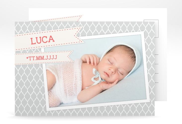Geburtskarte Mellow A6 Postkarte