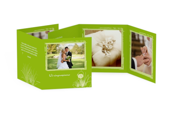 Ringraziamenti matrimonio collezione Murcia Quadr. Karte doppelt