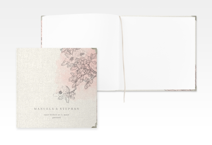 "Gästebuch Selection Hochzeit ""Artlover"" Leinen-Hardcover"
