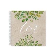 """Gästebuch Hochzeit """"Botany"""""""