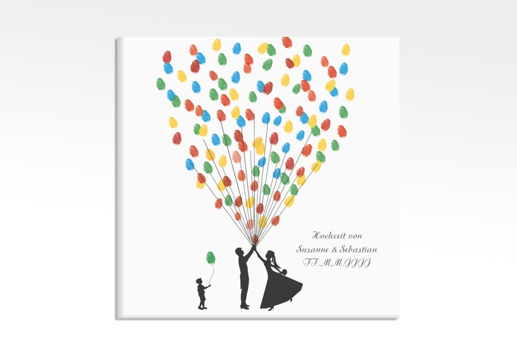 Wedding Tree – Ballons Beatrice Boy bis zu 40 Gäste 30x30 cm 30 x 30 cm