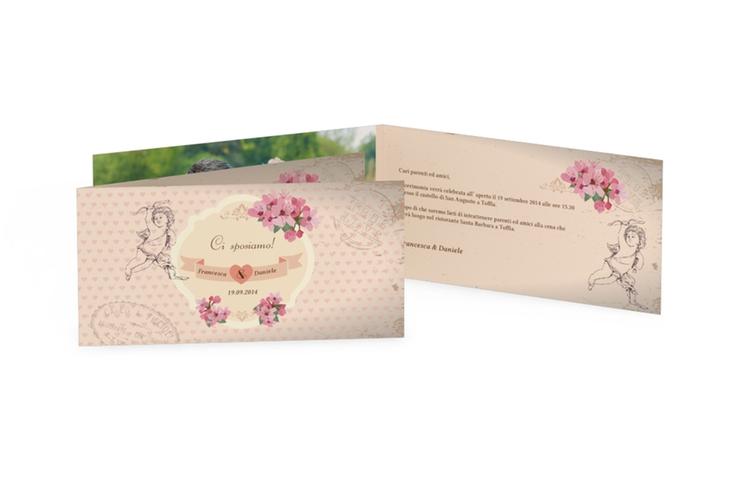 Inviti matrimonio collezione Chelles DIN lang Klappkarte
