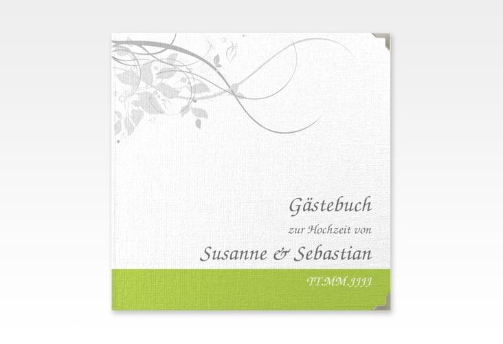 "Gästebuch Selection Hochzeit ""Florenz"" Leinen-Hardcover gruen"