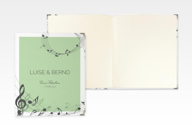 """Hochzeitsalbum """"Melody"""" 21 x 25 cm gruen"""