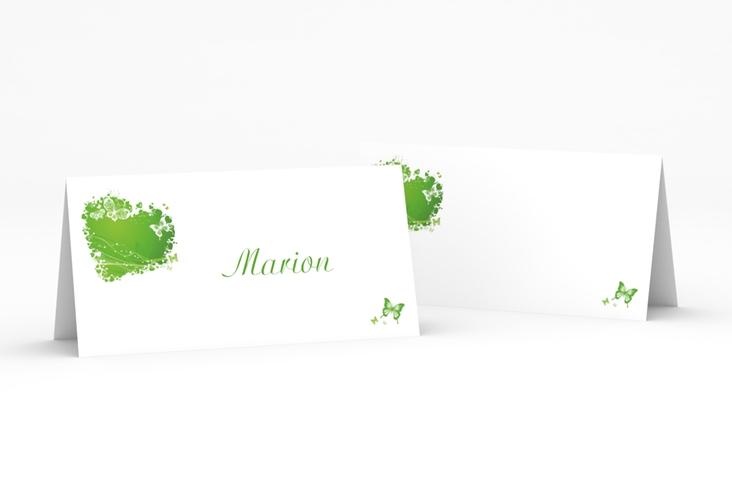 """Tischkarte Hochzeit """"Mailand"""" Tischkarten gruen"""