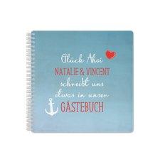 """Gästebuch Hochzeit """"Ehehafen"""""""