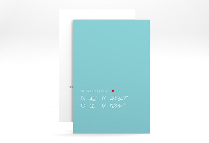 """Party Einladungskarte """"Lieblingsplatz"""" A6 hoch"""