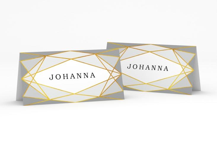 """Tischkarte Hochzeit """"Geometric"""" Tischkarten"""