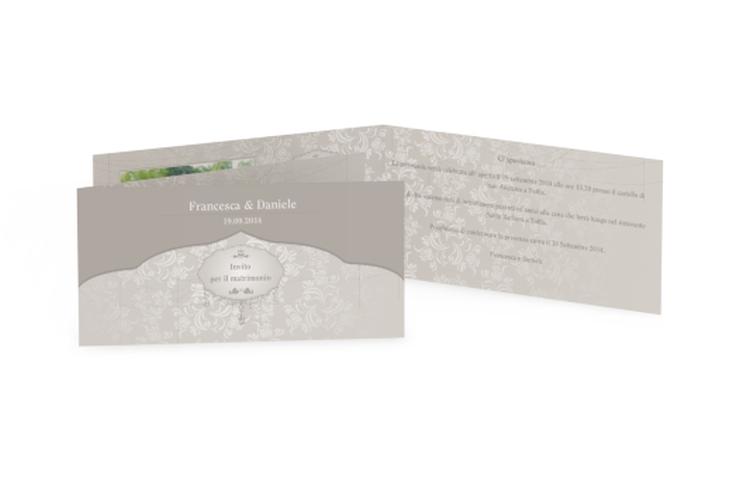 Inviti matrimonio collezione Francoforte DIN lang Klappkarte
