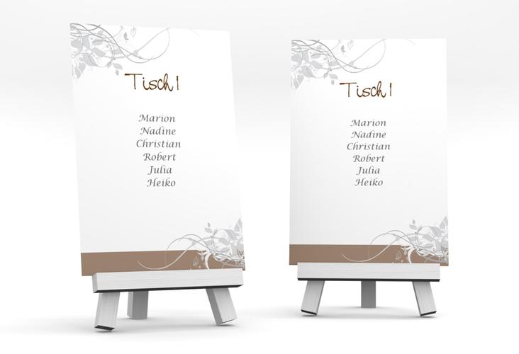"""Tischaufsteller Hochzeit """"Florenz"""" Tischaufsteller"""