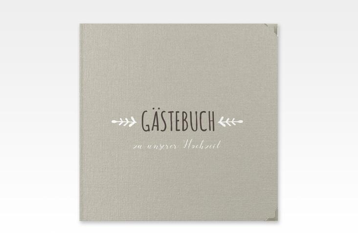 """Gästebuch Selection Hochzeit """"Eden"""" Hardcover weiss"""