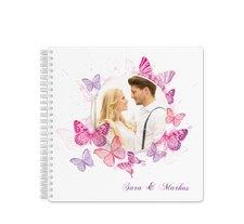 """Trautagebuch Hochzeit """"Schmetterlinge"""""""