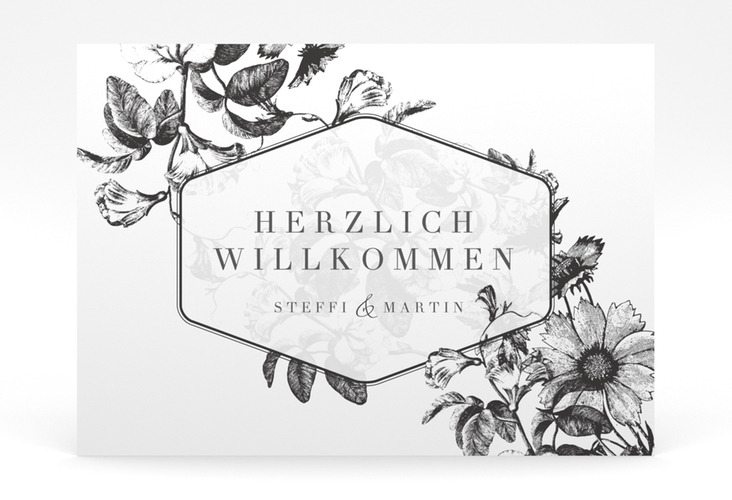 """Willkommensschild Poster """"Magnificent"""" 70 x 50 cm Poster"""