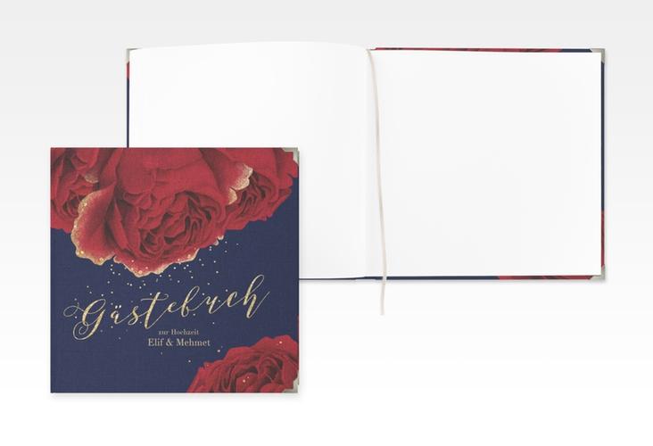 """Gästebuch Selection Hochzeit """"Cherie"""" Leinen-Hardcover"""