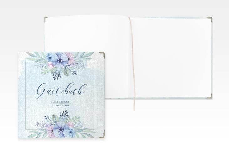 """Gästebuch Selection Hochzeit """"Surfinia"""" Leinen-Hardcover"""