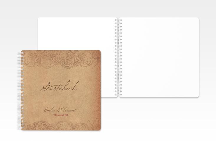 "Gästebuch Hochzeit ""Fairytale"" Ringbindung"
