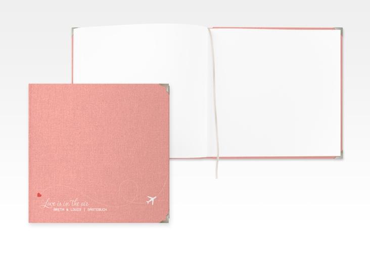 "Gästebuch Selection Hochzeit ""Weddingpass"" Hardcover rosa"