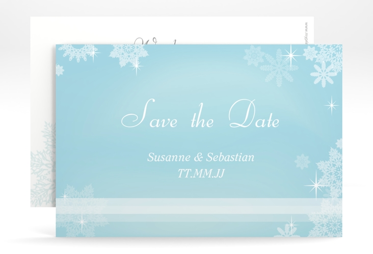 "Save the Date-Karte Hochzeit ""Meran"" A6 quer"