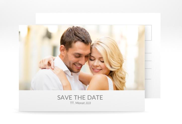 """Save the Date-Postkarte """"Vista"""" A6 Postkarte"""