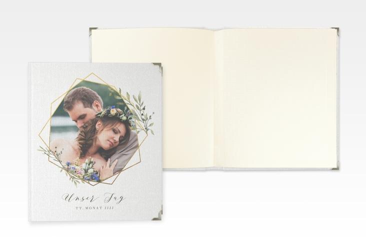 """Hochzeitsalbum """"Acacia"""" 21 x 25 cm weiss"""