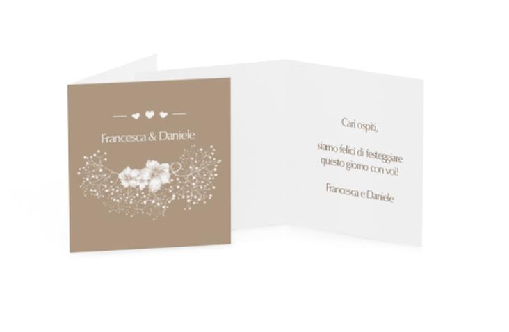 Biglietti Bomboniera matrimonio collezione Pescara Geschenkanhänger 10er Set