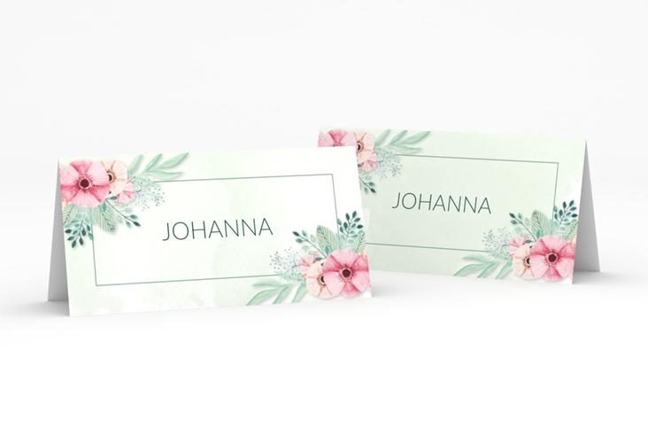 """Tischkarte Hochzeit """"Surfinia"""" Tischkarten gruen"""
