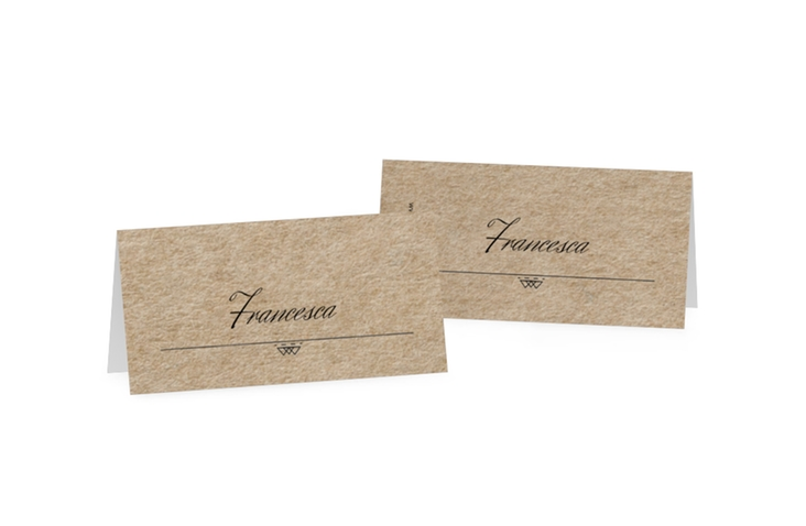Segnaposti matrimonio collezione Colorado Tischkarten