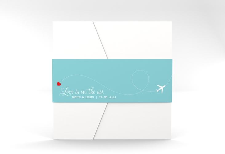 """Hochzeitseinladung """"Weddingpass"""" Pocketfold"""