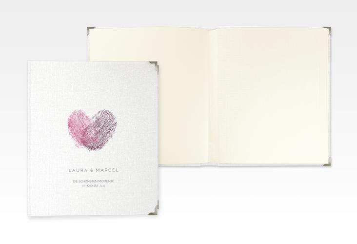 "Hochzeitsalbum ""Fingerprint"" 21 x 25 cm"