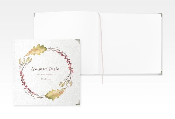 """Gästebuch Selection Hochzeit """"Herbsthochzeit"""" Leinen-Hardcover"""
