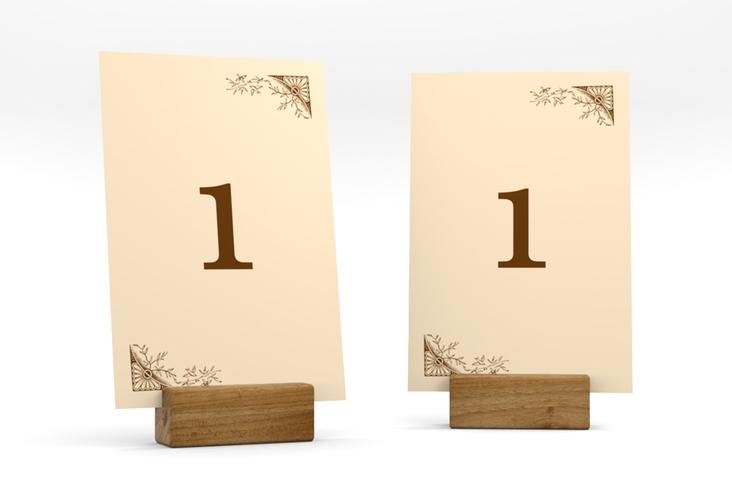 """Tischnummer Hochzeit """"Storybook"""" Tischaufsteller"""