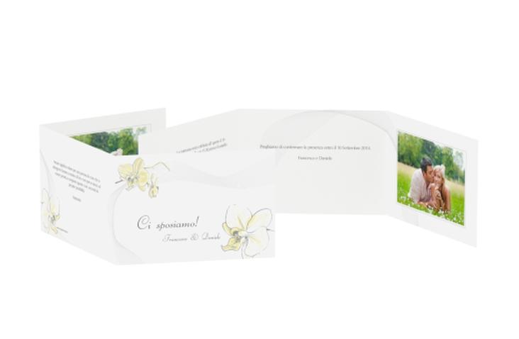 Inviti matrimonio collezione Modena A6 doppelt geklappt