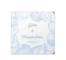 """Gästebuch Selection Hochzeit """"Muschelreich"""""""