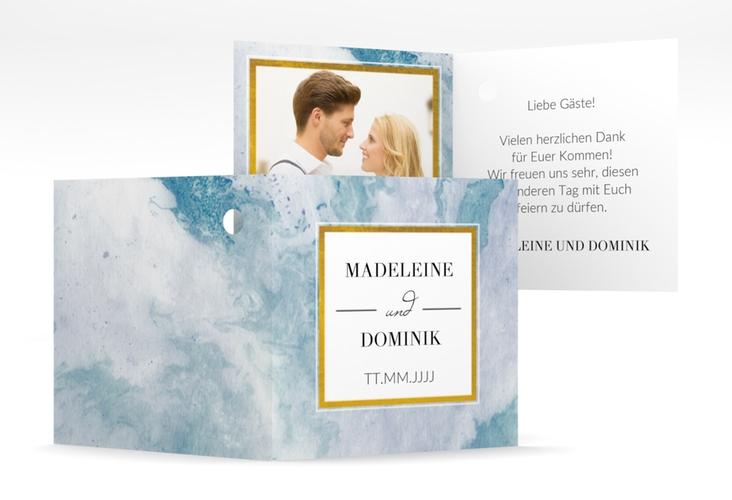 """Geschenkanhänger Hochzeit """"Marble"""" Geschenkanhänger 10er Set"""