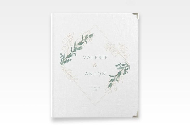 """Hochzeitsalbum """"Verde"""" 21 x 25 cm"""