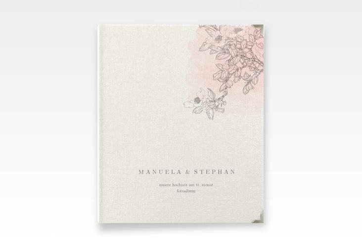 """Hochzeitsalbum """"Artlover"""" 21 x 25 cm rosa"""