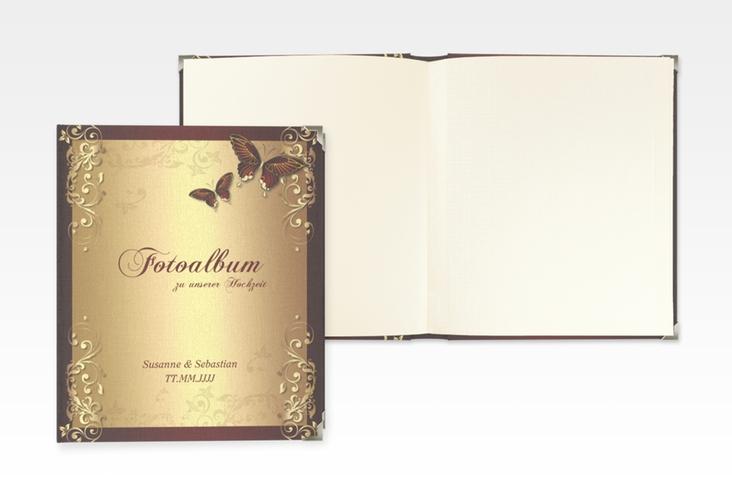 "Hochzeitsalbum ""Toulouse"" 21 x 25 cm rot"