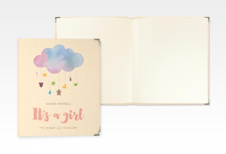 "Baby Fotoalbum ""Mobile"" 21 x 25 cm rosa"