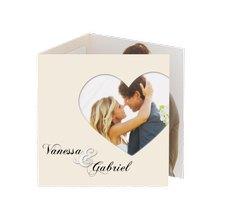 "Danksagungskarte Hochzeit ""Sweetheart"""