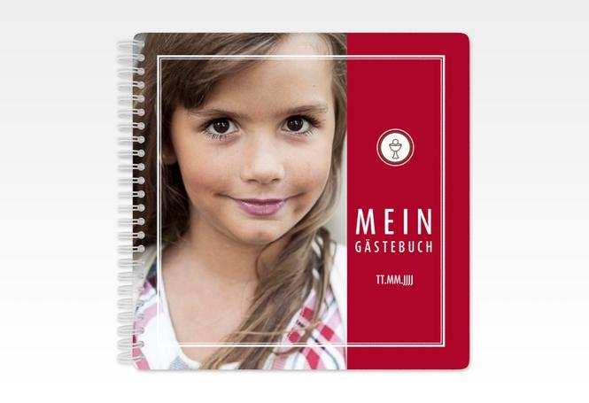 """Gästebuch Kommunion """"Calix"""" Ringbindung"""
