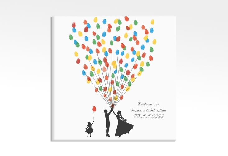 Wedding Tree – Ballons Beatrice Girl bis zu 40 Gäste 30x30 cm 30 x 30 cm