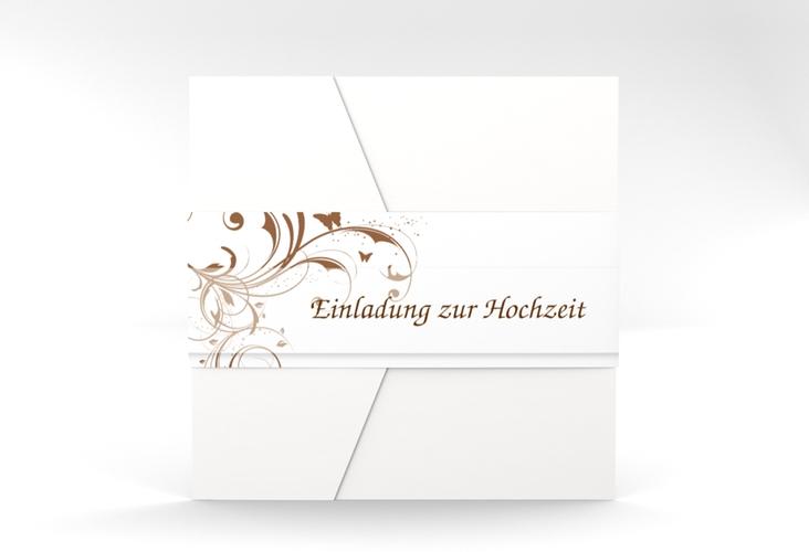 """Hochzeitseinladung """"Palma"""" Pocketfold"""