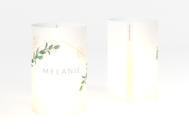 """Windlicht Hochzeit """"Verde"""" Windlicht"""