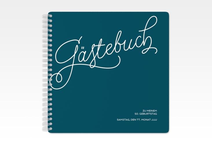 "Gästebuch Geburtstag ""Schwungvoll"" Ringbindung"