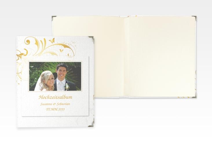 """Hochzeitsalbum """"Palma"""" 21 x 25 cm gold"""
