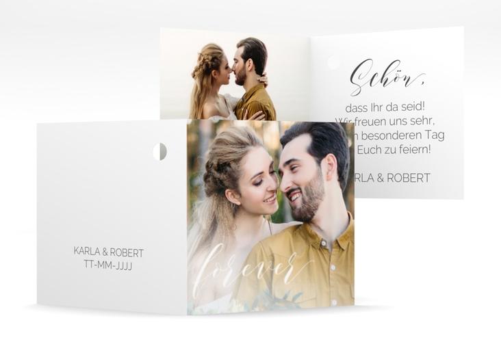 "Geschenkanhänger Hochzeit ""Promise"" Geschenkanhänger 10er Set weiss"