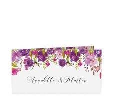 """Danksagungskarte Hochzeit """"Violett"""""""