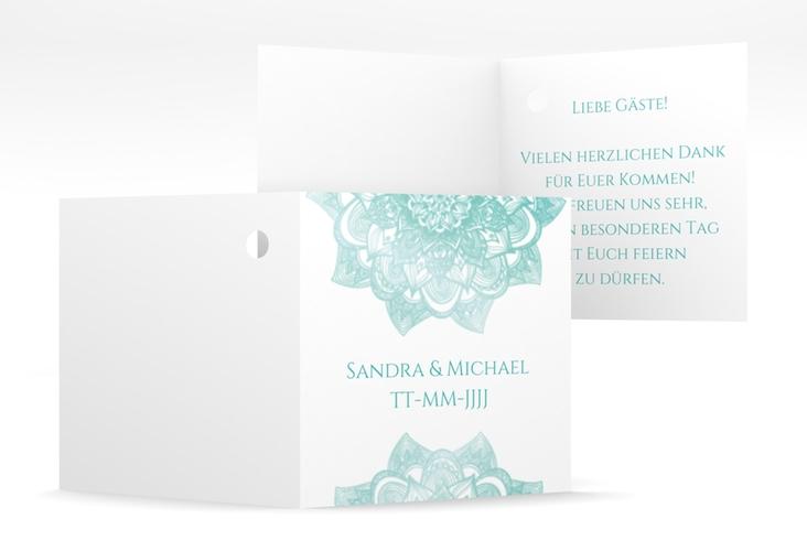 "Geschenkanhänger Hochzeit ""Delight"" Geschenkanhänger 10er Set mint"