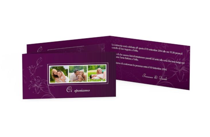 Inviti matrimonio collezione Lille DIN lang Klappkarte