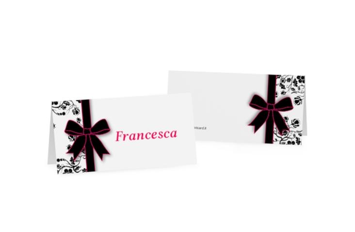 Segnaposti matrimonio collezione Bologna Tischkarten